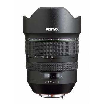Pentax HD D FA 15-30mm 2.8ED SDM WR W/Case