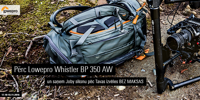 loweproCRAZYfriday - Lowepro Whistler BP 350 AW Grey
